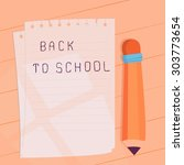back to school illustration....