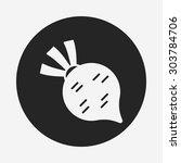 vegetables icon | Shutterstock .eps vector #303784706