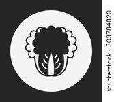 vegetables icon   Shutterstock .eps vector #303784820