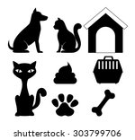 Stock vector pet digital design vector illustration eps 303799706
