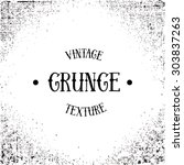 vintage vector grunge texture.... | Shutterstock .eps vector #303837263