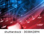 racing background | Shutterstock . vector #303842894