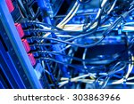 electrical connection of... | Shutterstock . vector #303863966