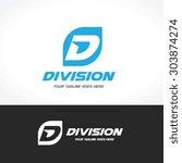 d logo sport logo vector logo...   Shutterstock .eps vector #303874274