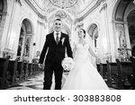 Wedding Ceremony On Church