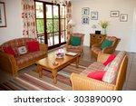 modern  bright  clean  kitchen... | Shutterstock . vector #303890090