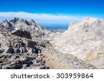 picos de europa mountains next... | Shutterstock . vector #303959864
