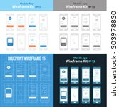 mobile app wireframe ui kit 15...