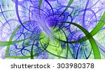 Beautiful Fractal Spiral Flowe...