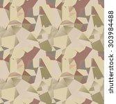 polygonal seamless patten | Shutterstock .eps vector #303984488