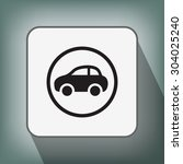pictograph of car   Shutterstock .eps vector #304025240
