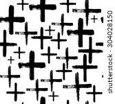 vector seamless abstract... | Shutterstock .eps vector #304028150