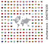 World Flags All Vector Color...