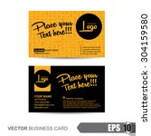 vector illustration business... | Shutterstock .eps vector #304159580