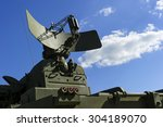 air defense radar of military... | Shutterstock . vector #304189070