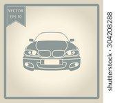 car vector icon | Shutterstock .eps vector #304208288