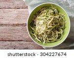 Useful Raw Zucchini Pasta In A...