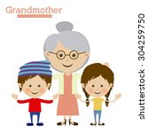 family design  vector... | Shutterstock .eps vector #304259750