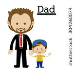 family design  vector... | Shutterstock .eps vector #304260074