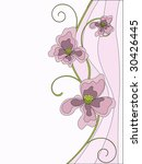 flower design | Shutterstock .eps vector #30426445