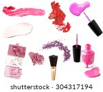 collection of various make up... | Shutterstock . vector #304317194