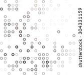 gray white donuts background ...   Shutterstock .eps vector #304331159