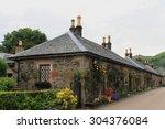 Luss Village On Loch Lomond  ...