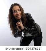 young beautiful woman | Shutterstock . vector #30437611