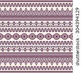 seamless pattern. vintage... | Shutterstock .eps vector #304394129