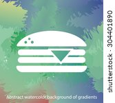 hamburger icon. one of set web...
