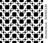black and white geometric... | Shutterstock .eps vector #304402130