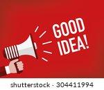 good idea    Shutterstock .eps vector #304411994