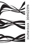 wave design element set vector... | Shutterstock .eps vector #304422596