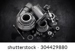 sorted turbocharger of car on... | Shutterstock . vector #304429880