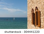View Of Mediterranean Sea In...