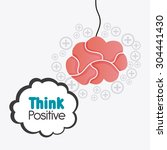 think different design  vector...   Shutterstock .eps vector #304441430