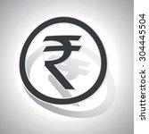 rupee sticker icon