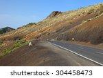 road to the peak el teide ...   Shutterstock . vector #304458473
