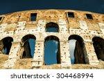 colosseum  coliseum  in rome ... | Shutterstock . vector #304468994