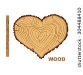 I Love Wood. Cutting Tree As A...