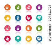 hand icons | Shutterstock .eps vector #304511729