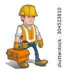 vector cartoon illustration of...   Shutterstock .eps vector #304523810