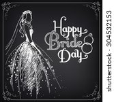 invitation template with... | Shutterstock .eps vector #304532153