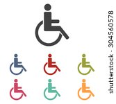 Disabled Icon Set