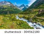 Swiss Alps Scenic Landscape....