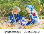 Russian Children In Traditiona...