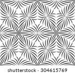 seamless pattern of abstract... | Shutterstock .eps vector #304615769