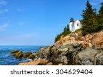Historic Lighthouse  Acadia...