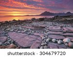 The Beach Of Elgol On The Isle...