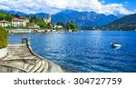 holidays in italy   beautiful... | Shutterstock . vector #304727759